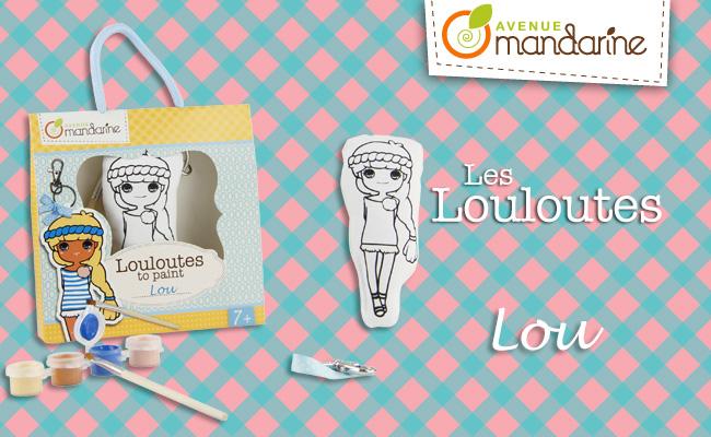 Kinder Tapeten Zum Bemalen : Louloute zum bemalen Lou von Avenue Mandarine 7+ Neuheiten